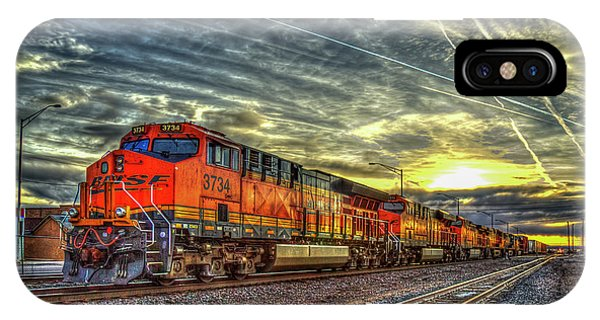 Make Way Resting B N S F Train Gallup New Mexico Art IPhone Case