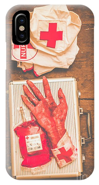 Organ iPhone Case - Make Your Own Frankenstein Medical Kit  by Jorgo Photography - Wall Art Gallery