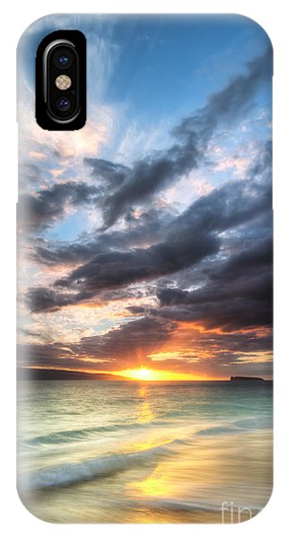 Makena Beach Maui Hawaii Sunset IPhone Case
