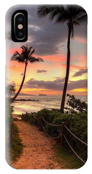 Makena Sunset Path IPhone Case
