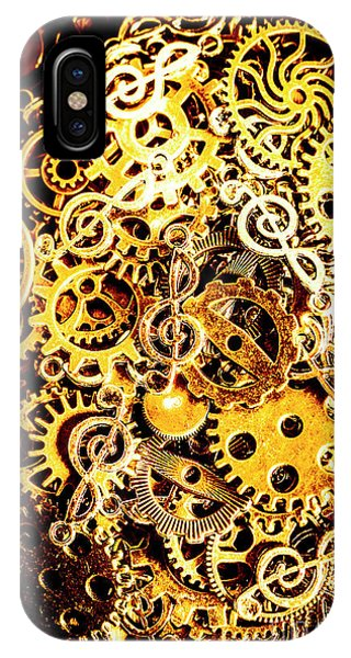 Punk Rock iPhone Case - Making Music by Jorgo Photography - Wall Art Gallery