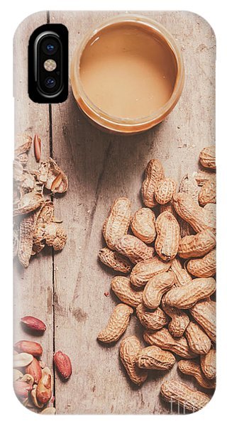 Container iPhone Case - Making Peanut Butter by Jorgo Photography - Wall Art Gallery