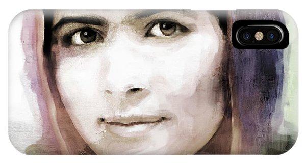 Malala Yousaf Zai 10 IPhone Case