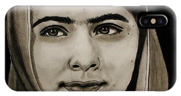 Malala Yousafzai- Teen Hero IPhone Case