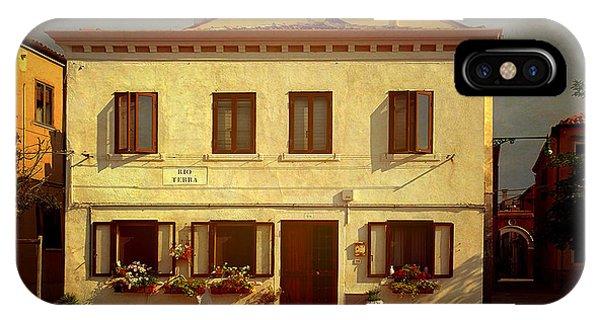 Malamocco House No1 IPhone Case