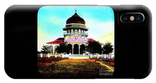 Malay Mosque Singapore Circa 1910 IPhone Case