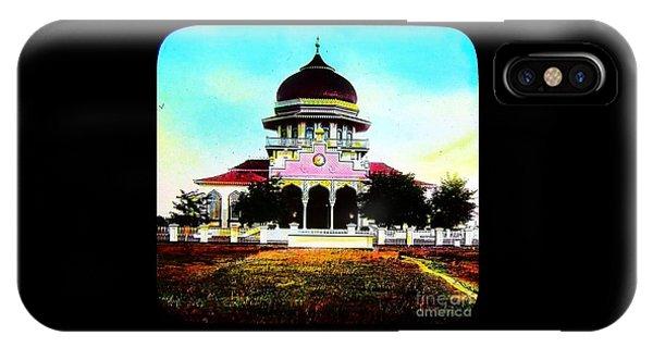 Malay Mosque Singapore Circa 1910 IPhone Case