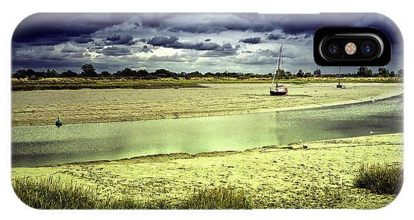 Maldon Estuary Towards The Sea IPhone Case