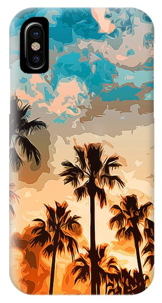 Malibu Beach - Heaven's Sky IPhone Case