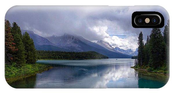 Maligne Lake IPhone Case