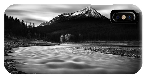Maligne River Autumn IPhone Case