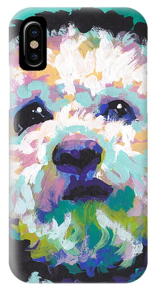 Pup iPhone Case - Malted Milky Poo by Lea S