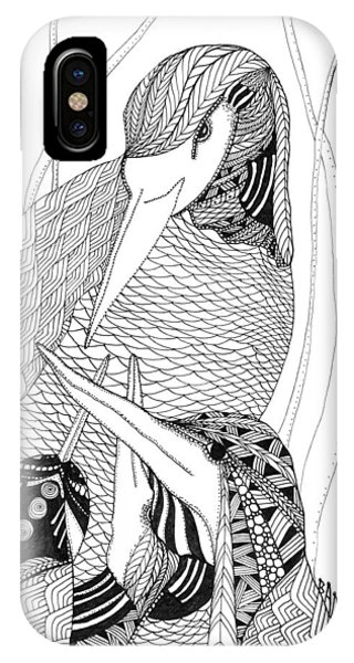 Mama Heron IPhone Case