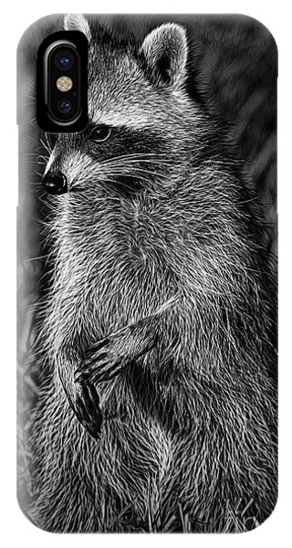 Mama Raccoon IPhone Case