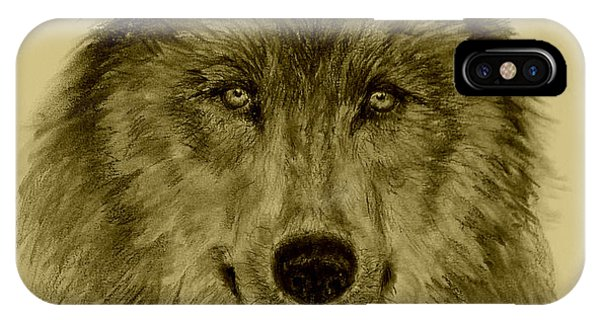 Mama Wolf Original IPhone Case