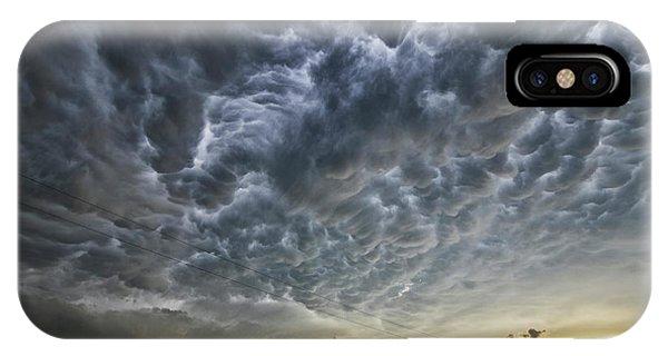 Mammatus Over Nebraska IPhone Case