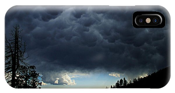IPhone Case featuring the photograph Mammatus by Sean Sarsfield