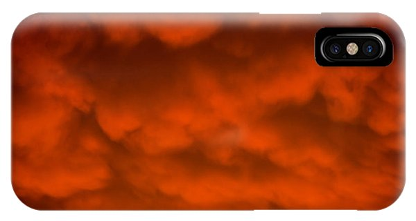 Mammutus Clouds Sunset IPhone Case