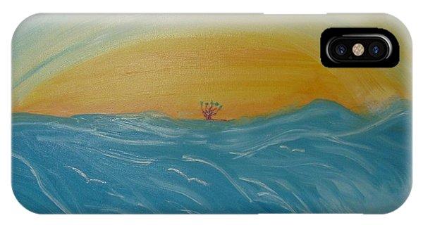 Man As Flower IPhone Case