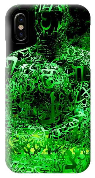 Man In Green IPhone Case