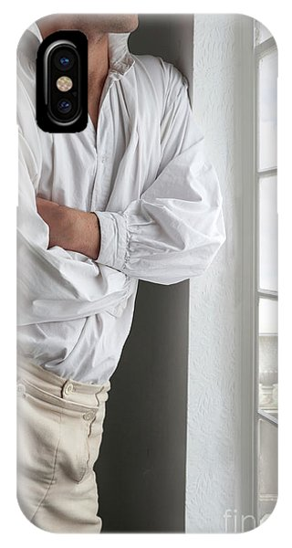 Man In Historical Shirt And Breeches IPhone Case