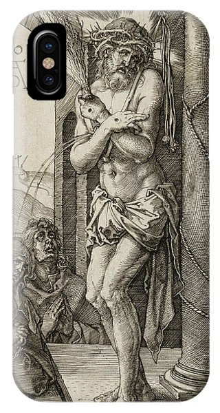 Albrecht Durer iPhone Case - Man Of Sorrows by Albrecht Durer