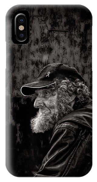 Male iPhone Case - Man With A Beard by Bob Orsillo