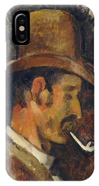 iPhone Case - Man With Pipe by Paul Cezanne
