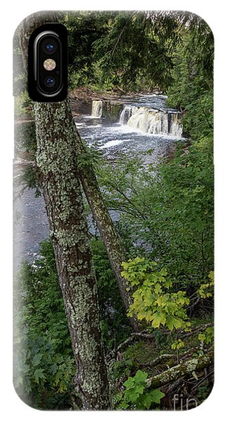 Manabezho Falls IPhone Case