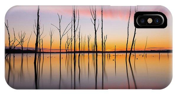 Manasquan Reservoir Long Exposure IPhone Case