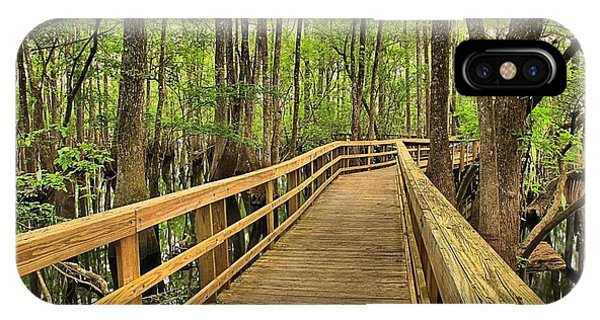 Manatee Springs Boardwalk IPhone Case