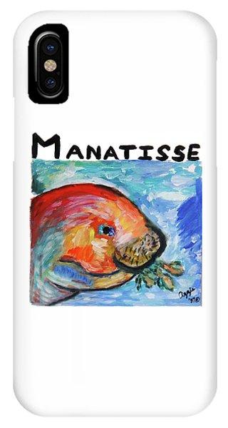 Manatisse IPhone Case