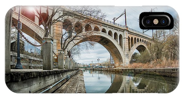 Manayunk Bridge IPhone Case