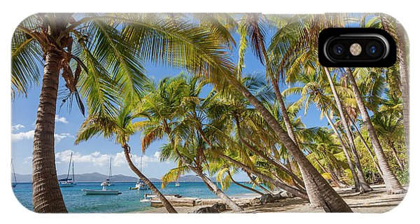 IPhone Case featuring the photograph Manchioneel Bay, Cooper Island by Adam Romanowicz