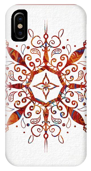 Spirituality iPhone Case - Mandala Art 2 by Patricia Lintner