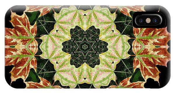 Mandala Autumn Star IPhone Case