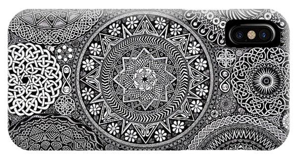 Mandala Bouquet IPhone Case