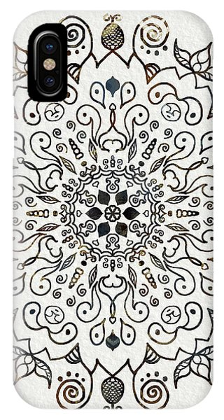 Spirituality iPhone Case - Mandala Earth And Water 2 by Patricia Lintner
