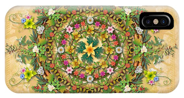 Mandala Flora IPhone Case