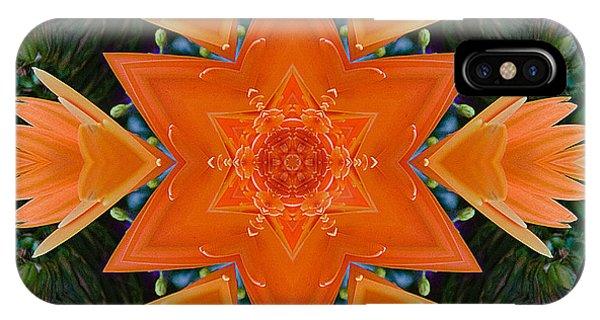 Mandala Star IPhone Case