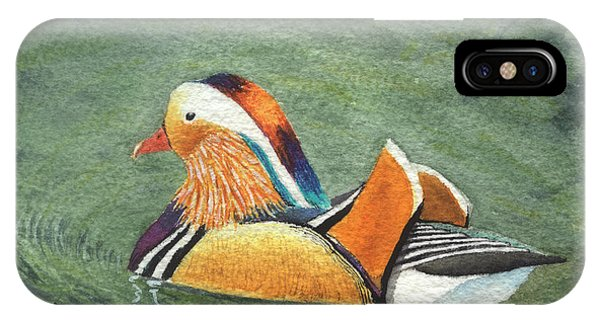 Mandarin Duck IPhone Case