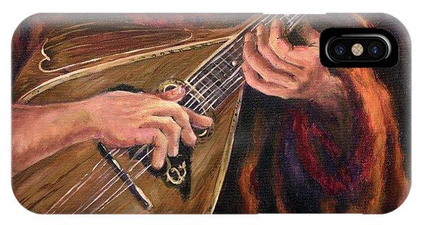 Mandolin Phone Case by Deborah Smith