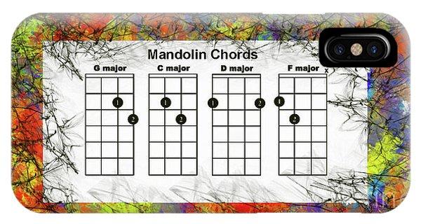 Mandolin- The Basic Chords IPhone Case