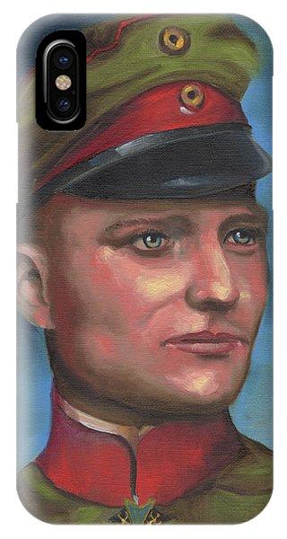 Manfred Von Richthofen The Red Baron IPhone Case
