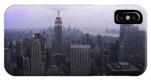 Manhattan At Dawn IPhone Case