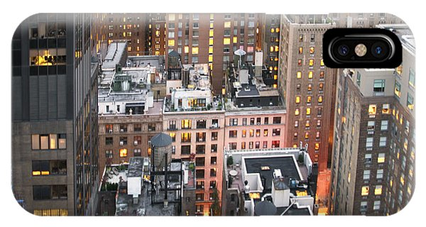 Manhattan At Dusk IPhone Case
