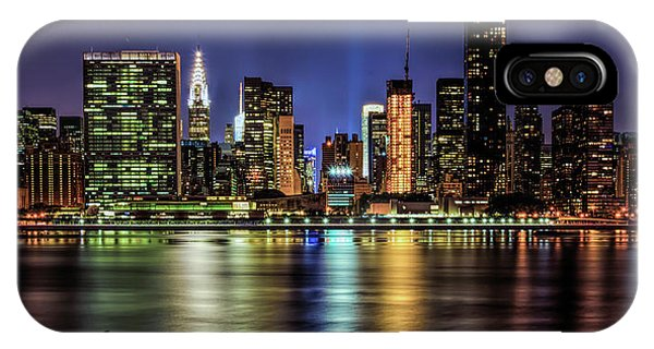 IPhone Case featuring the photograph Manhattan Beauty by Theodore Jones