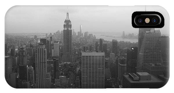 Manhattan Black And White IPhone Case