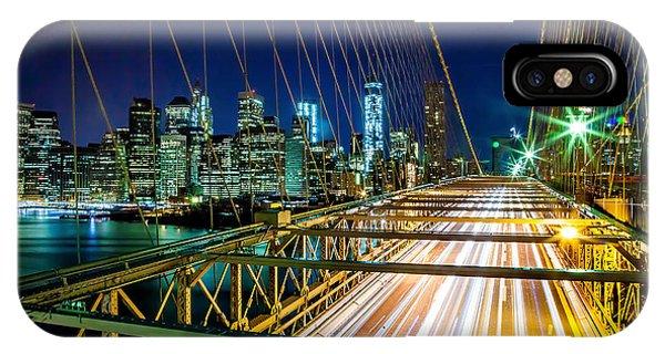 Cab iPhone Case - Manhattan Bound by Az Jackson