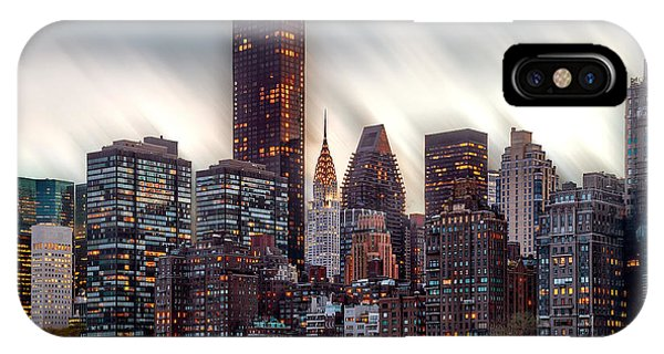 Architectural iPhone Case - Manhattan Daze by Az Jackson